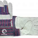 перчатки рабочие комбинированные утепленные - INTERTOOL SP-0154