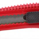 нож прорезной с выдвижным сегментированным лезвием - INTERTOOL HT-0501