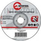 зачистной диск по металлу - INTERTOOL CT-4021