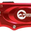 нож прорезной с выдвижным трапециевидным лезвием - INTERTOOL HT-0515