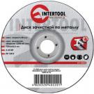 зачистной диск по металлу - INTERTOOL CT-4022