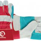 перчатки рабочие комбинированные усиленные - INTERTOOL SP-0153
