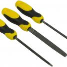 набор напильников слесарных (3 шт.) - Stanley 0-22-445
