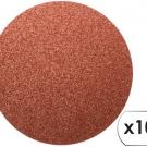 шлифовальные шкурки листовые самоклеющиеся (10 ед.) - INTERTOOL BT-0502