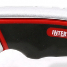 нож прорезной с выдвижным трапециевидным лезвием - INTERTOOL HT-0516