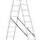лестница двухсекционная универсальная - INTERTOOL LT-0212