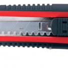 нож прорезной с выдвижным сегментированным лезвием - INTERTOOL HT-0508