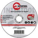 диск отрезной абразивный по камню - INTERTOOL CT-5005