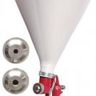 пневмопистолет картушный для нанесения штукатурки - INTERTOOL PT-0403
