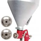 пневмопистолет картушный для нанесения штукатурки - INTERTOOL PT-0401