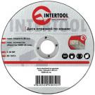 диск отрезной абразивный по камню - INTERTOOL CT-5001