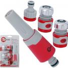 наконечник поливочный с адаптером и коннекторами - INTERTOOL GE-0032