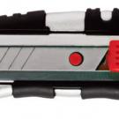 нож прорезной с выдвижным сегментированным лезвием - INTERTOOL HT-0510
