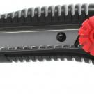 нож прорезной с выдвижным сегментированным лезвием - INTERTOOL HT-0502